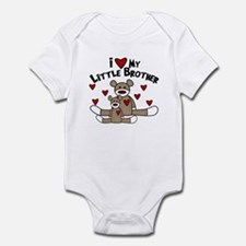 Love Little Brother SOCK Monkey Infant Bodysuit