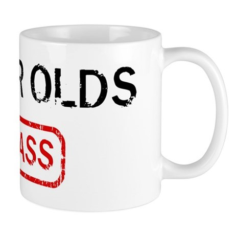 93 YEAR OLDS kick ass Mug