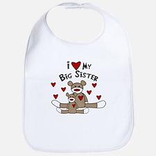 I Love My Big Sister SM Bib