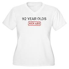 92 YEAR OLDS kick ass T-Shirt