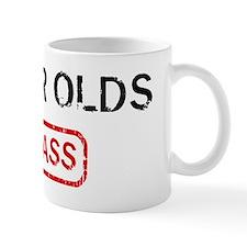 92 YEAR OLDS kick ass Small Mug