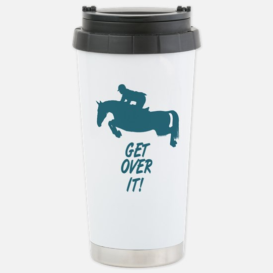 Get Over It. Hunter Jumper Large Mugs