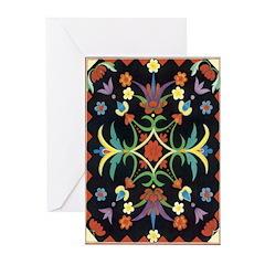 Folkart Greeting Cards (Pk of 20)
