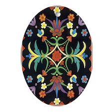 Folkart Oval Ornament