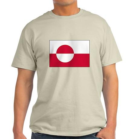 Greenland Flag Light T-Shirt