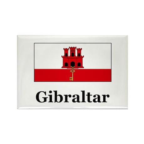 Gibraltar Rectangle Magnet (10 pack)