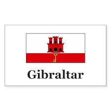 Gibraltar Rectangle Decal