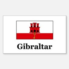 Gibraltar Rectangle Decal