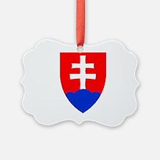 Slovakia Ice Hockey Emblem - Slov Ornament