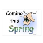 Coming this Spring Postcards (Package of 8)