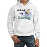 Coming this Spring Hooded Sweatshirt