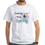 Coming this Spring White T-Shirt
