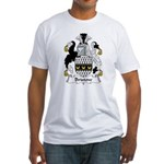 Bristow Family Crest  Fitted T-Shirt