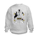 Bristow Family Crest  Kids Sweatshirt