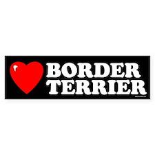 BORDER TERRIER Bumper Car Sticker