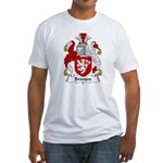 Brinton Family Crest  Fitted T-Shirt