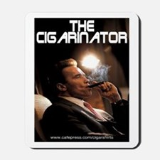 Arnold Schwarzenegger Cigar Mousepad