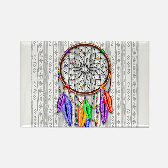 Dreamcatcher Rainbow Feathers s Magnets