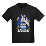 Bringhurst Family Crest Kids Dark T-Shirt