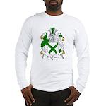 Brigham Family Crest Long Sleeve T-Shirt