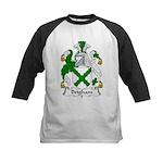 Brigham Family Crest Kids Baseball Jersey