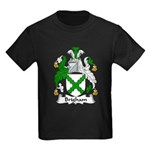 Brigham Family Crest Kids Dark T-Shirt