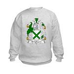 Brigham Family Crest Kids Sweatshirt
