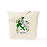 Brigham Family Crest Tote Bag