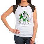 Brigham Family Crest Women's Cap Sleeve T-Shirt