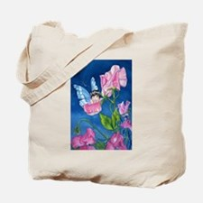PeasBlossom the Fairy on Sweet Pea Tote Bag