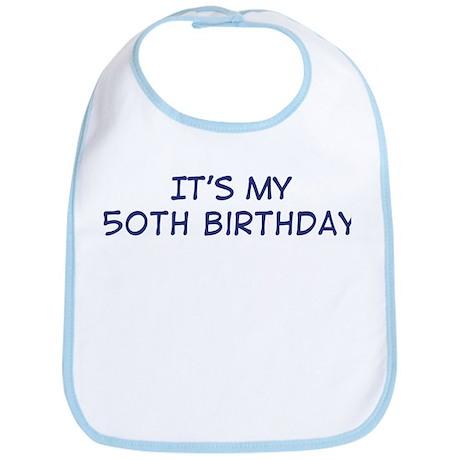 Its my 50th Birthday Bib