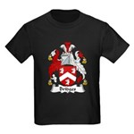 Bridges Family Crest  Kids Dark T-Shirt