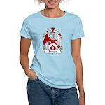 Bridges Family Crest  Women's Light T-Shirt