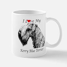 I Love My Kerry Blue-1 Mug