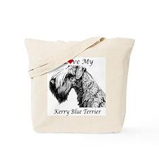 I Love My Kerry Blue-1 Tote Bag