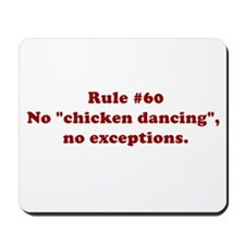 Rule #60 Mousepad