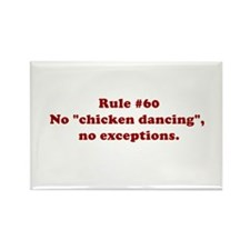 Rule #60 Rectangle Magnet