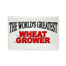 """""""The World's Greatest Wheat Grower"""" Rectangle Magn"""