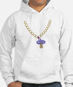 Baby Bling Bling Pacifier Chain Hoodie