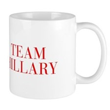 Team Hillary-Bau red 500 Mugs