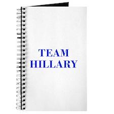 Team Hillary-Bod blue 421 Journal