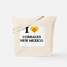 I love Corrales New Mexico Tote Bag