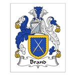Brand Family Crest Small Poster