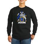Brand Family Crest Long Sleeve Dark T-Shirt