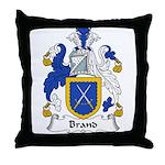 Brand Family Crest Throw Pillow