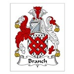 Branch Family Crest Small Poster