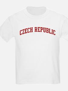 CZECH REPUBLIC (red) T-Shirt