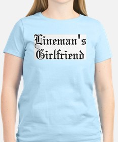 Linemans girlfriend T-Shirt