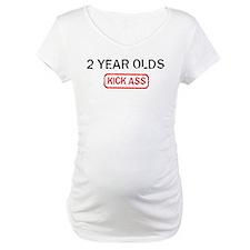 2 YEAR OLDS kick ass Shirt