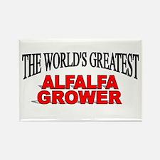 """The World's Greatest Alfalfa Grower"" Rectangle Ma"